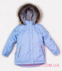 Зимняя теплая куртка парка для девочки Lenne Marion 18329/4120