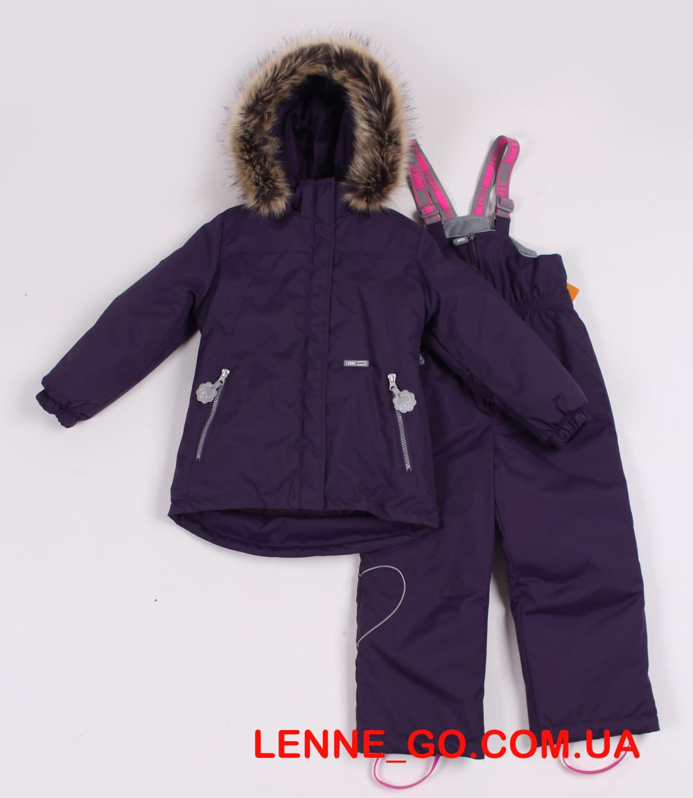 Lenne Marion+Heily комплект для девочки баклажан