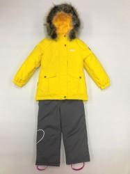 Lenne maya heily комплект для девочки серо-жёлтый