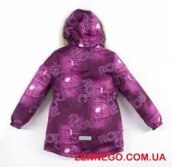 Lenne Maya удлиненная куртка парка для девочки фиолет