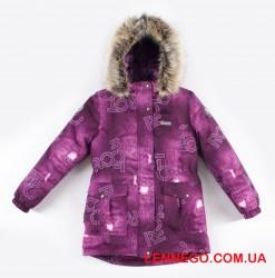 Зимняя куртка для девочки lenne maya 19330/6050 фиолет