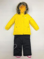 Lenne maya heily комплект для девочки жёлтый графит
