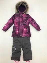 Lenne maya heily комплект для девочки фиолет серый