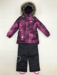 Lenne maya heily комплект для девочки фиолет графит
