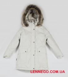 Lenne Melody куртка парка для девочки подросток бежевая