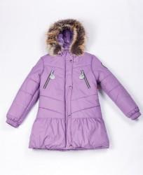 Зимнее пальто для девочки Lenne Miia 18328/361 сиреневое