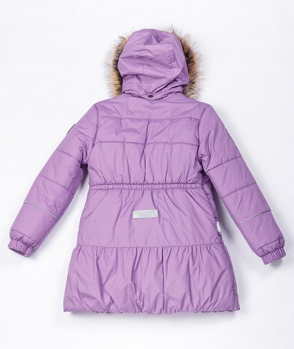 Lenne Miia пальто для девочки сиреневое