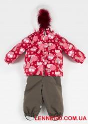 Зимний комплект для девочки (куртка+полукомбинезон) Lenne Flora 19313/1866