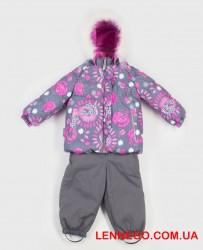Зимний комплект для девочки (куртка+полукомбинезон) lenne miia 19313/3702