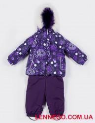 Зимний комплект для девочки (куртка+полукомбинезон) lenne miia 19313/6188