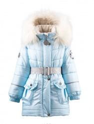 Lenne Milla пальто для девочки голубое