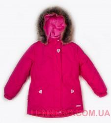 Зимняя куртка парка для девочки Lenne Milly 18330/261 ягодная