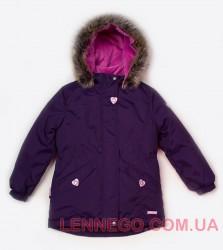 Зимняя куртка парка для девочки Lenne Milly 18330/612 баклажан