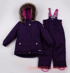 Lenne Milly+Heily комплект для девочки баклажан