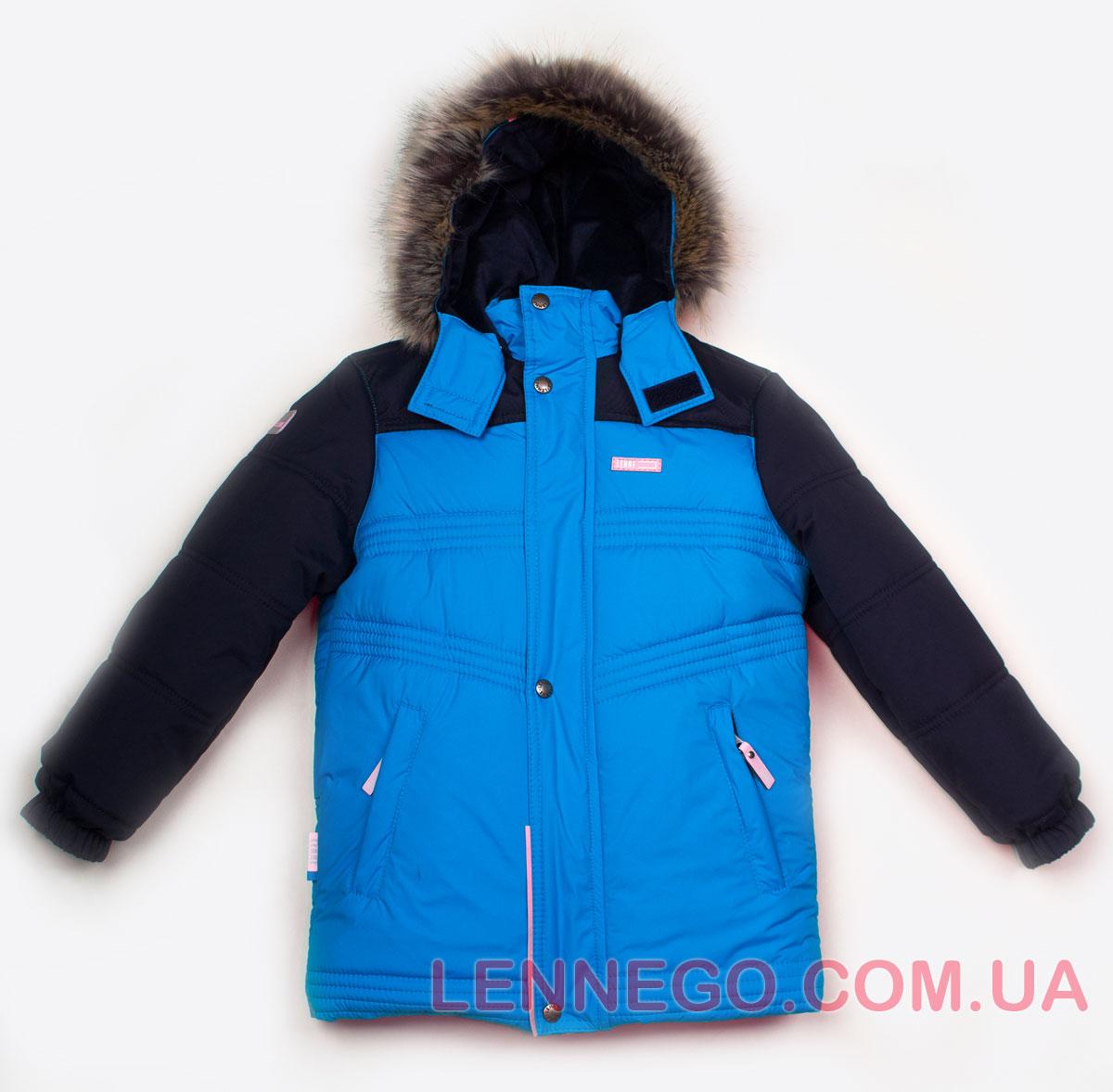 Lenne Milo куртка для мальчика голубая
