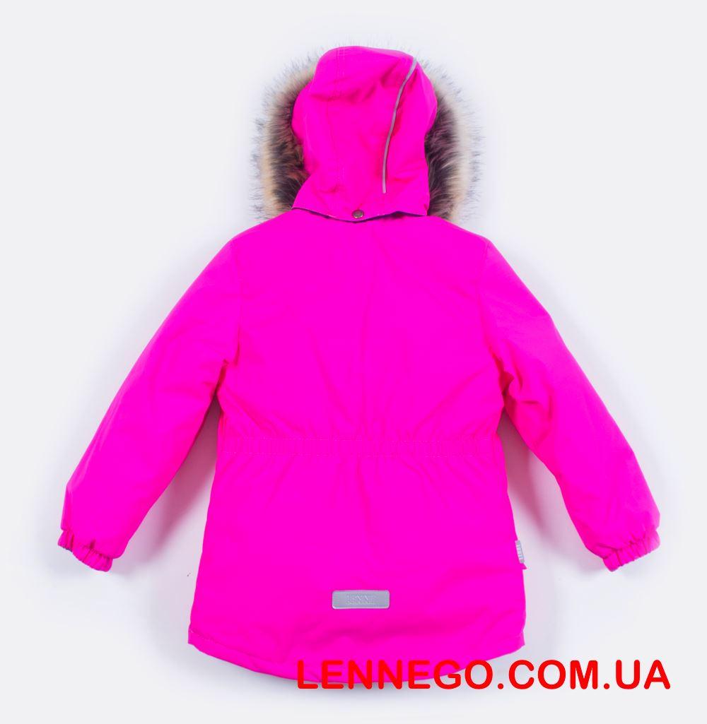 Lenne Miriam удлиненная куртка парка для девочки ярко-розовый