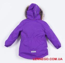 Lenne Miriam удлиненная куртка парка для девочки фиолет