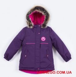 Зимняя куртка для девочки зима 2019-2020 lenne miriam баклажан