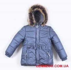 Lenne Perle куртка для девочки тёмный металлик