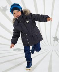 Lenne Ralph удлиненная куртка парка для мальчика, темно-синий графит