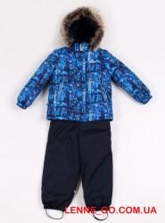 Зимний костюм для мальчика (куртка+полукомбинезон) Lenne Robby 19320B/6000 синий