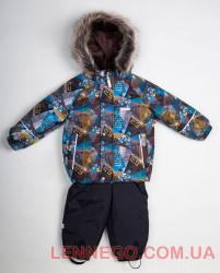 Зимний комплект для мальчика Lenne Robert 18314/8160