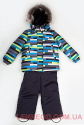 Зимний комплект для мальчика Lenne Robis 18320D/3300 серый