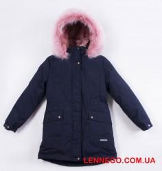 Lenne Rosa куртка парка для девочки тёмно-синяя подросток 19671/229