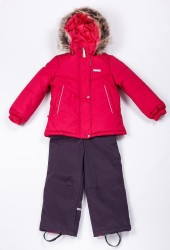 Зимний комплект для девочки (куртка+полукомбинезон) lenne rowena 20723/095