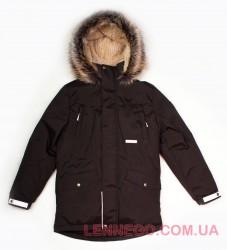 Lenne Ryan куртка парка для мальчика коричневая, подросток