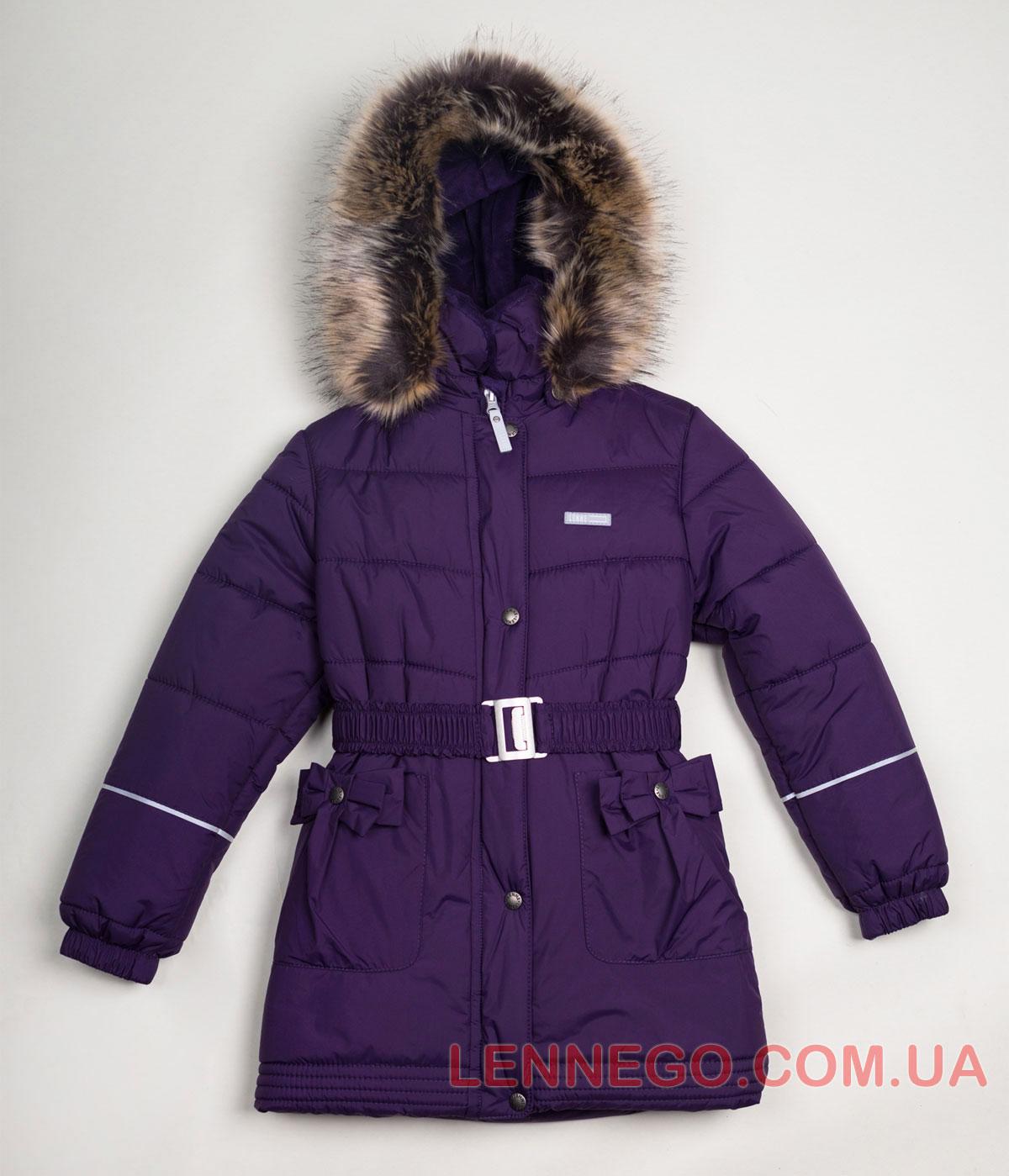 Lenne Sheryl пальто для девочки баклажан