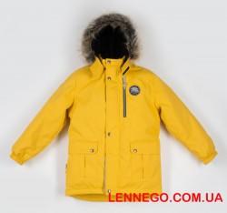 Lenne Snow удлиненная куртка парка для мальчика жёлтая