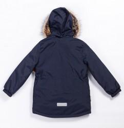 Lenne Snow удлиненная куртка парка для мальчика тёмно-синяя 20341-229