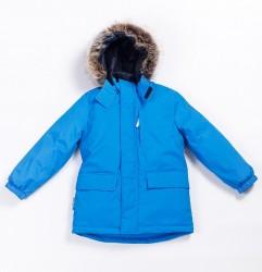 Зимняя парка для мальчика lenne snow 20341/658 синяя