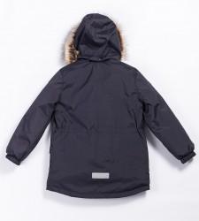 Lenne Snow удлиненная куртка парка для мальчика тёмно-синий графит 20341-987