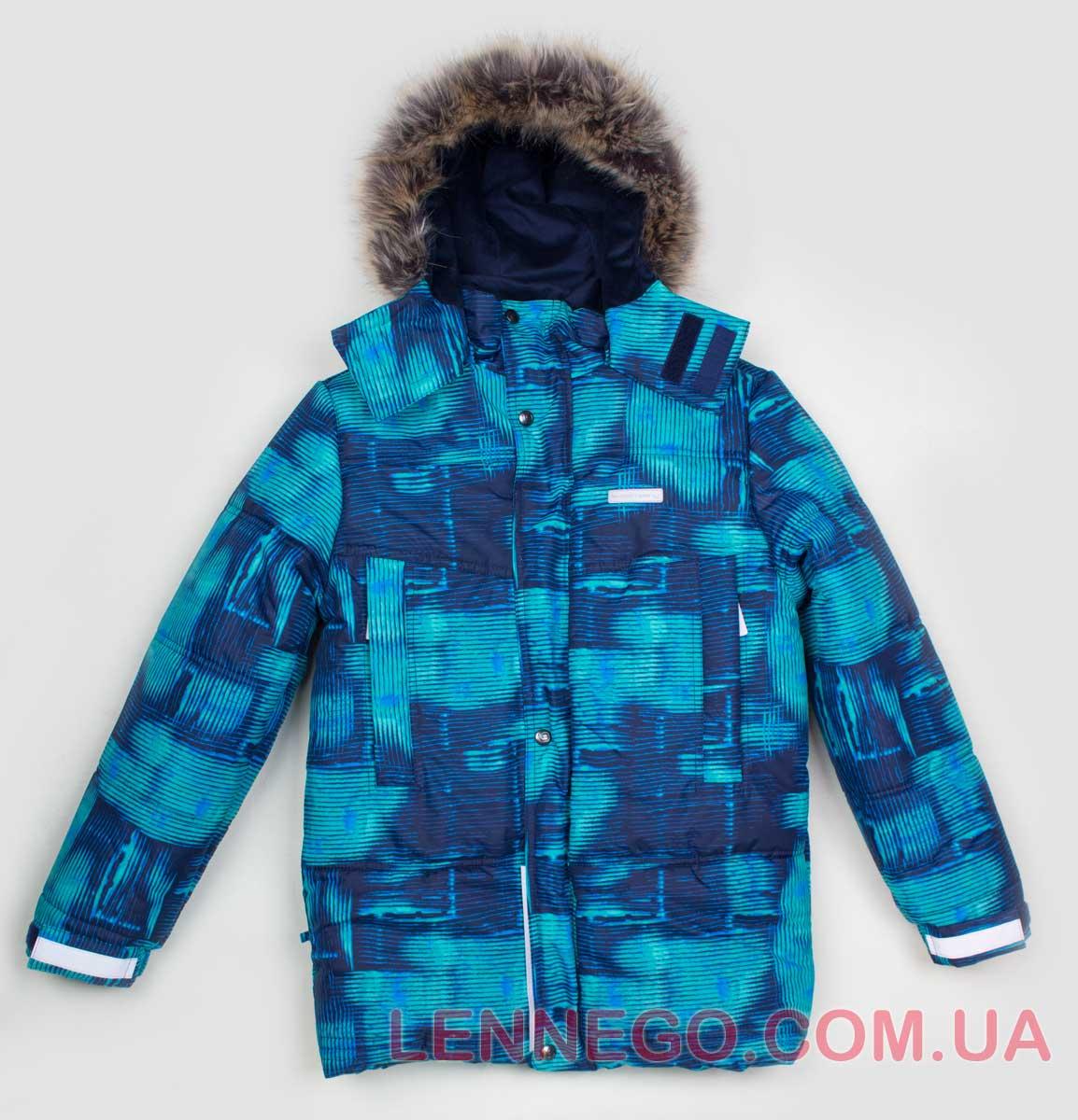 Lenne Sonny куртка для мальчика, зеленая подросток