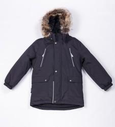 Зимняя куртка парка для мальчика Lenne Storm 18341/987 темно-синий графит
