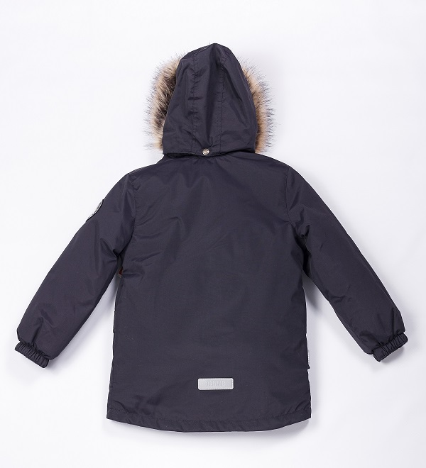 Lenne Storm удлиненная куртка парка для мальчика темно-синий графит
