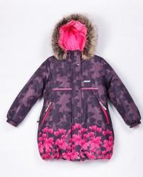 Зимнее теплое пальто для девочки lenne stina 20334/2400