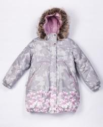 Зимнее теплое пальто для девочки lenne stina 20334/2540