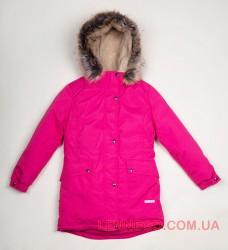 Lenne Tess куртка парка для девочки малиновая