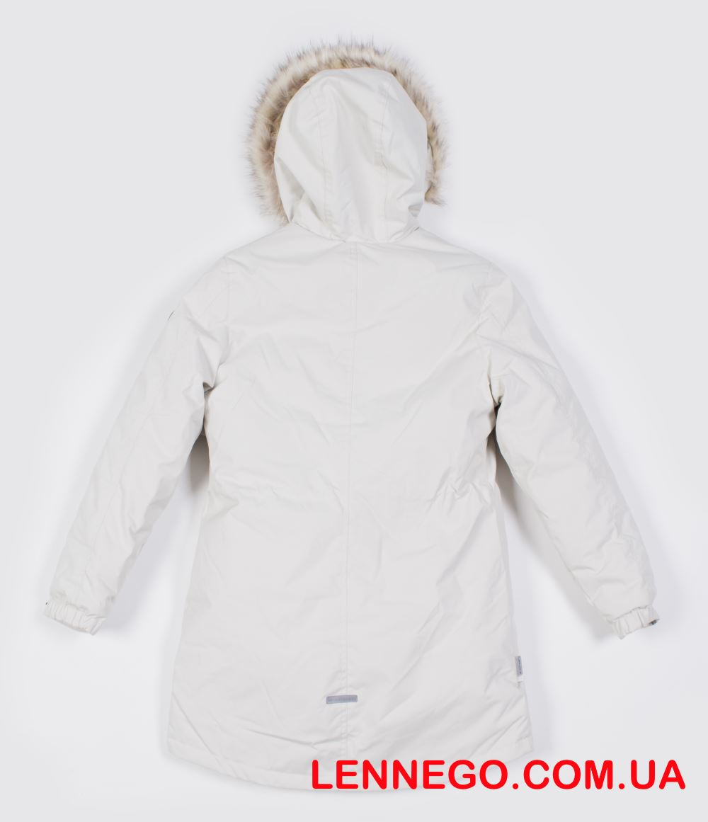 Lenne Tessa куртка парка для девочки бежевая