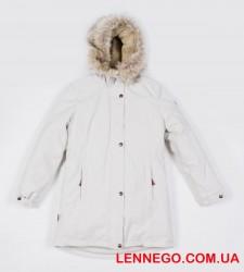 Зимняя куртка парка для девочки lenne tessa 19363/101 бежевая