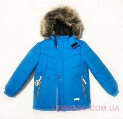 Lenne Timmy зимняя куртка для мальчика голубая