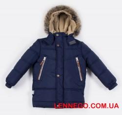 Зимняя куртка для мальчика Lenne Tom 19338/229 тёмно-синяя