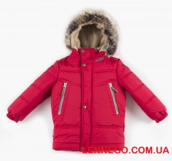 Lenne Tom зимняя куртка для мальчика красная