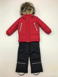 Lenne tom jack зимний комплект для мальчика красный