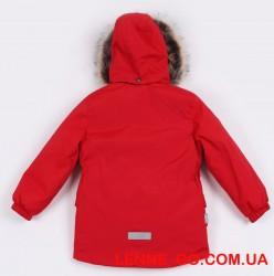 Lenne Wolf удлинённая куртка парка для мальчика красная