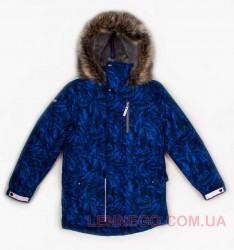 Зимняя куртка парка для мальчика Lenne Wood 18368A/6800 синяя