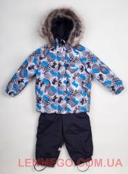 Очень теплый зимний комплект для мальчика Lenne Zoomy 18315/3900